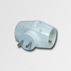 EMOS zásuvka rozboč. 3x bílá KL870023