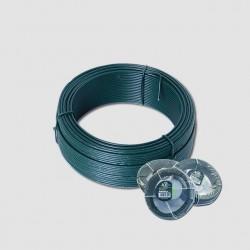 Napínací drát 3.4mmx50M zelený PVC