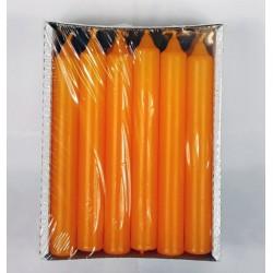 BARTEK CANDLES Svíčka klasik válec 2,1x17 cm - Oranžová