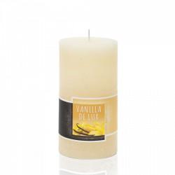 BARTEK CANDLES Svíčka rustikální vonná válec 70x140 mm - Vanilla