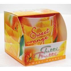 BARTEK CANDLES Svíčka vonná ve skle Tutti Frutti - Orange
