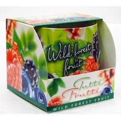 BARTEK CANDLES Svíčka vonná ve skle Tutti Frutti - Wild