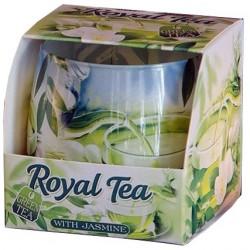BARTEK CANDLES Svíčka vonná ve skle Royal Tea - Green