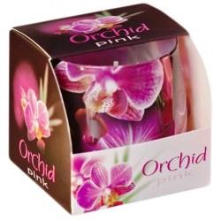 BARTEK CANDLES Svíčka vonná ve skle ORCHID - Pink