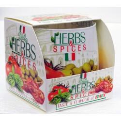 BARTEK CANDLES Svíčka vonná ve skle Herbs&Spices - Italia