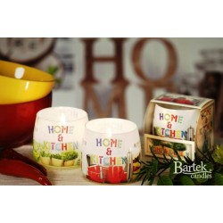 BARTEK CANDLES 	Svíčka vonná ve skle Home & Kitchen NEW -  Honey & Vanilla