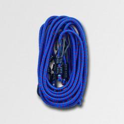 STAVTOOL Sada 4ks gum. popruhů 1,4m, pr. 8mm, modré