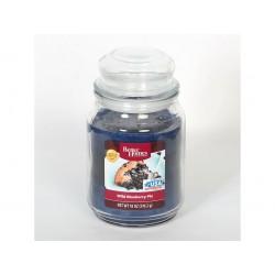 CANDLE-LITE BETTER HOMES Svíčka dekorativní ve skleněné dóze - Wild Blueberry Pie 510g