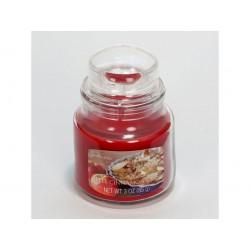 CANDLE-LITE ESSENTIALS Svíčka dekorativní ve skleněné dóze - Apple Cinnamon Crisp 85g