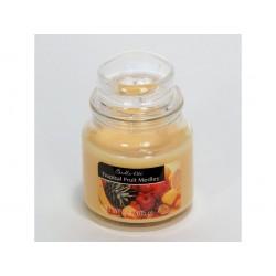 CANDLE-LITE ESSENTIALS Svíčka dekorativní ve skleněné dóze - Tropical Fruit Medley 85g
