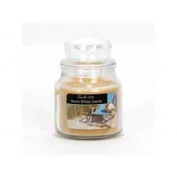 CANDLE-LITE ESSENTIALS Svíčka dekorativní ve skleněné dóze - Warm White Sands 85g
