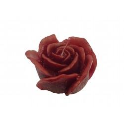 BARTEK CANDLES Svíčka dekorativní Love Flower - květ růže nízký 75x40mm