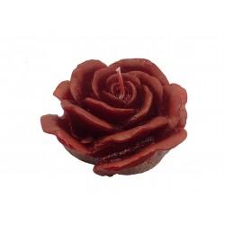BARTEK CANDLES Svíčka dekorativní Love Flower -  květ růže vysoký 90x60mm