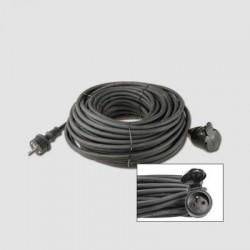 EMOS Prodluž. kabel guma 1 zás.230V/20m KL29220