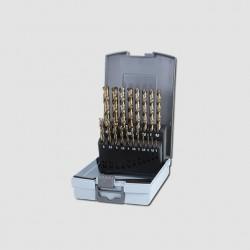 RUKO Sada vrtáků do kovu HSS-G CO 25dílů plastový box RU215215RO