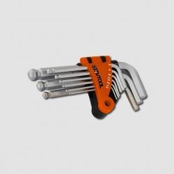 STAVTOOL Sada imbus klíčů 1,5-10mm 9 dílů P16611