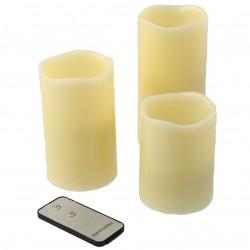 Svíčka LED 3ks ARTI CASA