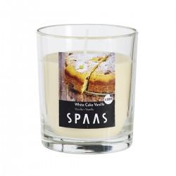 Svíčka vonná ve skle 7x7,7cm - Vanilka   SPAAS