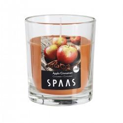 Svíčka vonná ve skle 7x7,7cm - Skořice  SPAAS