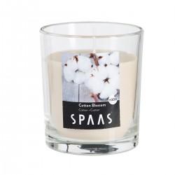 Svíčka vonná ve skle 7x7,7cm - Květ bavlny   SPAAS
