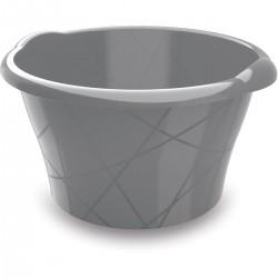 KIS Umyvadlo kulaté S - šedé 10l