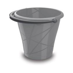 KIS Vedro šedé 12l