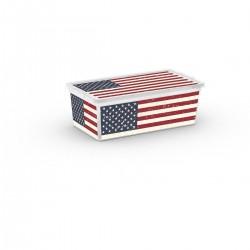 KIS C Box Style American Flag XS, 6l