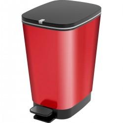 KIS Koš na odpad Chic Bin M - Metal Red, 35L