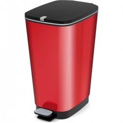 KIS Koš na odpad Chic Bin L - Metal Red, 50L
