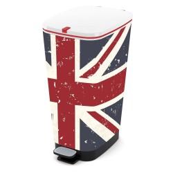 KIS Koš na odpad Chic Bin L Union Jack, 50L