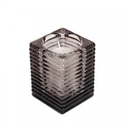 SPAAS Svícen na čajovou svíčku 6 ks antracit