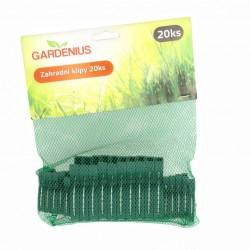 Zahradní svorky 20ks  - Gardenius