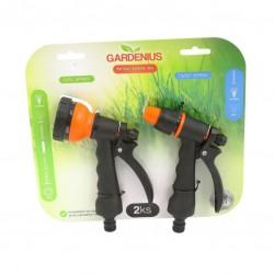 SET 2ks - hadicový rozstřikovač/pistole na vodu  - Gardenius