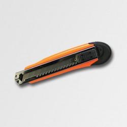 STAVTOOL Nůž ulamovací 18mm pogumovaný P19103