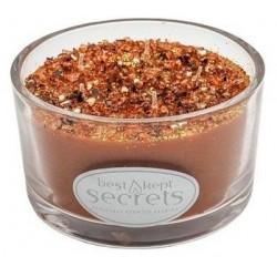 Svíčka vonná ve skle 7x12cm 5 knotů - Hot Cinnamon