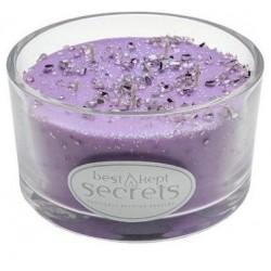 Svíčka vonná ve skle 7x12cm 5 knotů - Fresh Lavender