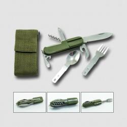 STAVTOOL Nůž campingový 8-dílný P19113