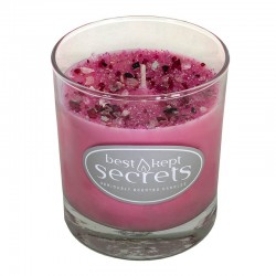 Svíčka vonná ve skle 8x7cm Sparkling Glass - Faerie Wishes and Kisses