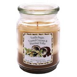 CANDLE-LITE Svíčka dekorativní ve skleněné dóze - Vanilla Sugar &  538g