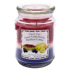 CANDLE-LITE Svíčka dekorativní ve skleněné dóze - Cherry Tart 538g