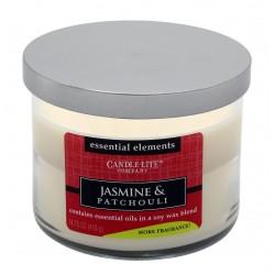 CANDLE-LITE Svíčka dekorativní ve skle - Jasmine & Patchouli 418g