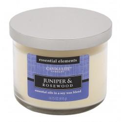 CANDLE-LITE Svíčka dekorativní ve skle - Juniper & Rosewood 418g