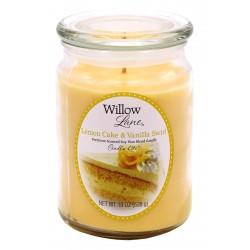 CANDLE-LITE Svíčka dekorativní ve skleněné dóze - Lemon Cake & Vanilla Swirl 538g