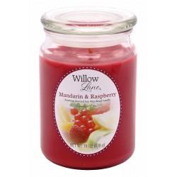 CANDLE-LITE Svíčka dekorativní ve skleněné dóze - Mandarin & Raspberry 538g