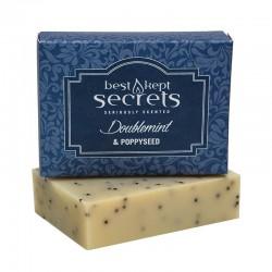Přírodní mýdlo  - Doublemint and Poppyseed 100g