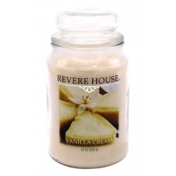 CANDLE-LITE Svíčka dekorativní ve skleněné dóze - Vanilla Cream  652g