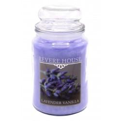 CANDLE-LITE Svíčka dekorativní ve skleněné dóze - Lavender Vanilla  652g