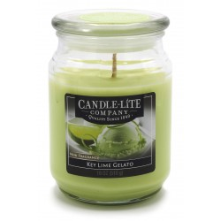 CANDLE-LITE Svíčka dekorativní ve skleněné dóze - Key Lime Gelato  510g