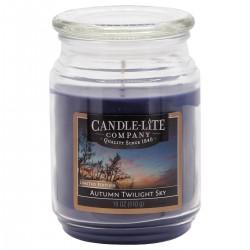 CANDLE-LITE Svíčka dekorativní ve skleněné dóze - AUTUMN TWILIGHT SKY  510g