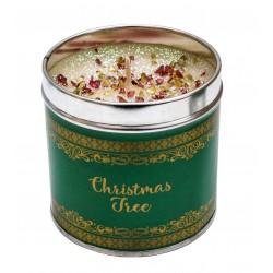 Svíčka vonná v nerezu 8x7,5cm Winter elegance - Christmas Tree